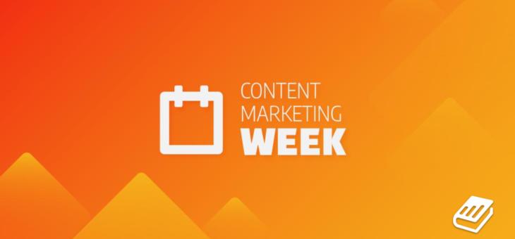 Inscrições para a Content Marketing Week estão abertas